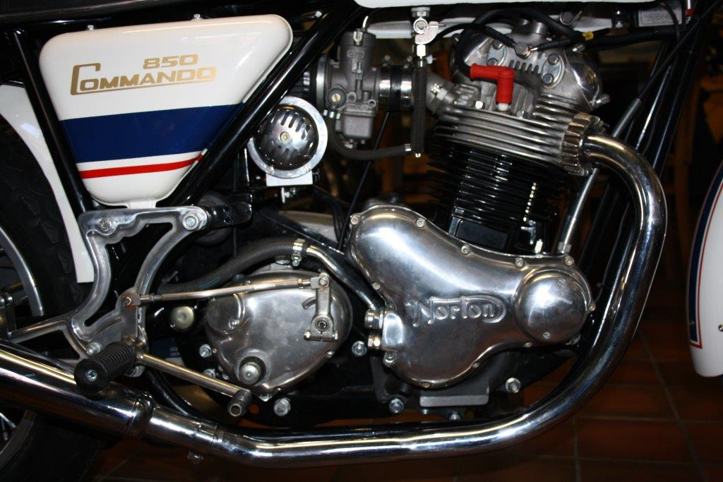Norton Commando 1967-1977 (detail)