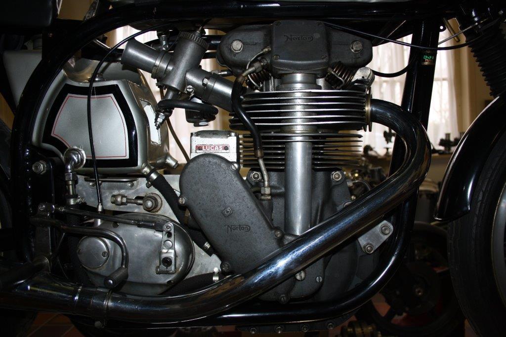 Norton Manx 350 (winnaar TT Assen) 1959 (detail)